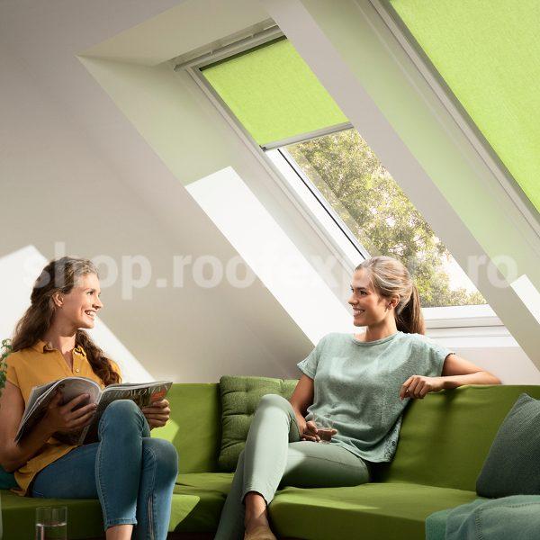 Rulou decorativ VELUX in culori creative RFL