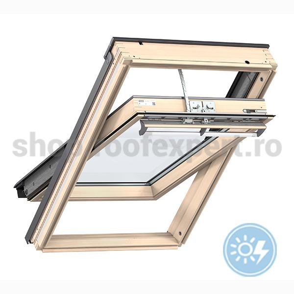 fereastra de mansarda velux ggl integra solar shop. Black Bedroom Furniture Sets. Home Design Ideas