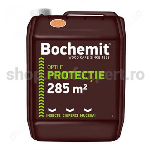 Solutie tratare preventiva lemn Bochemit Opti F 5 KG maro